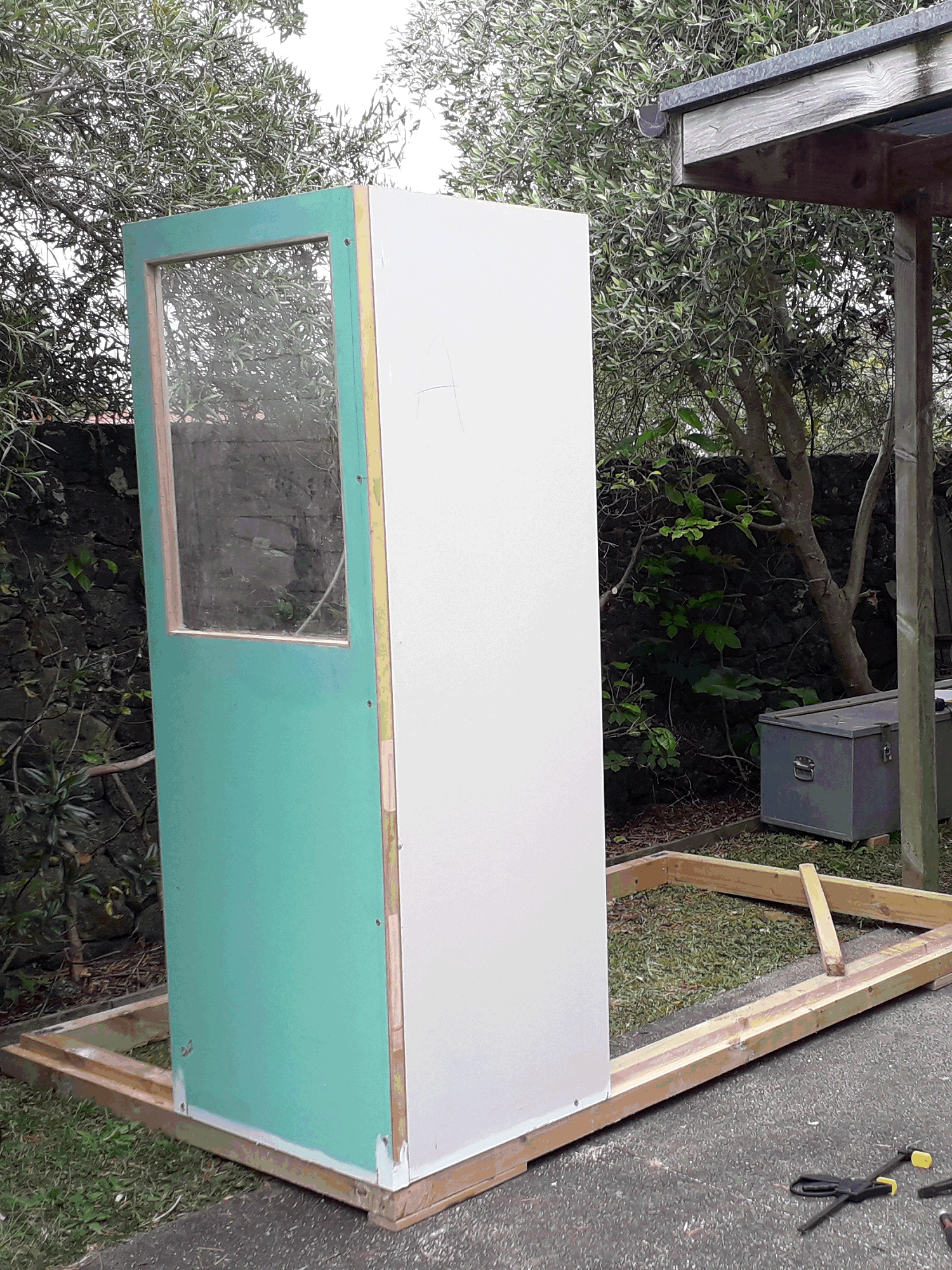 Shed wall panels commenced